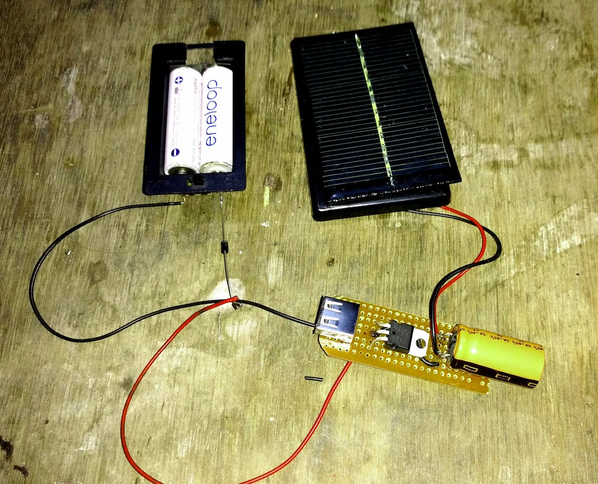 Solar Powered Arduino Uno 6v Battery Charger Circuit Electronic Projects
