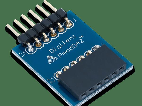 Using the Pmod DA2 with Arduino Uno