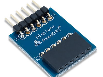 Using the Pmod DA2 with Arduino Uno