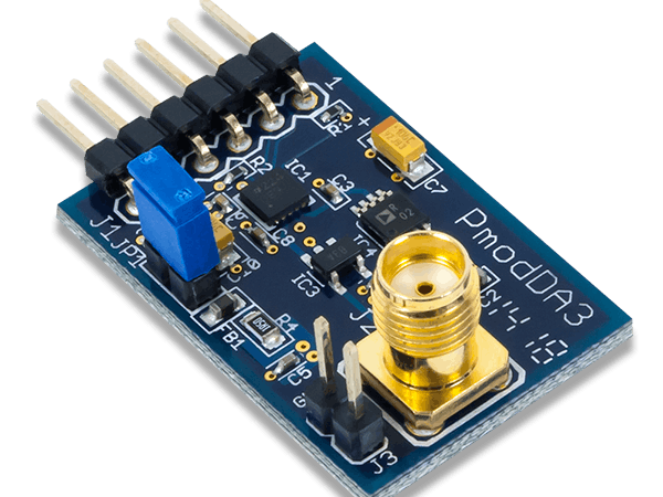 Using the Pmod DA3 with Arduino Uno
