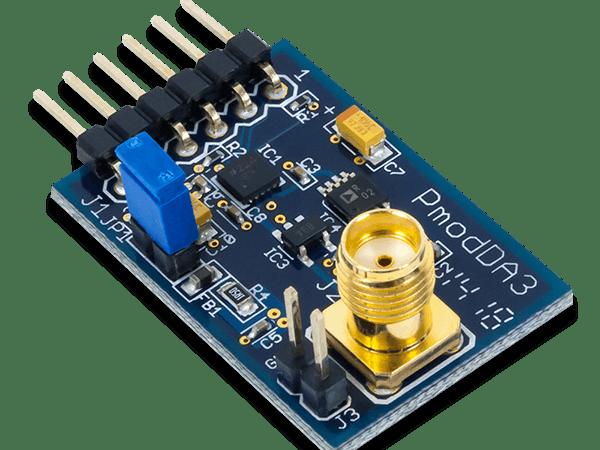 Using the Pmod DA3 with Arduino Uno