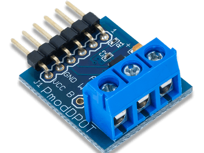Using the Pmod DPOT with Arduino Uno