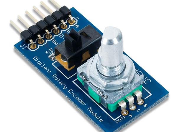 Using the Pmod ENC with Arduino Uno