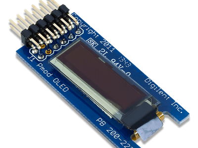 Using the Pmod OLED with Arduino Uno