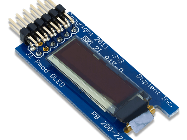 Using the pmod oled with arduino uno project hub