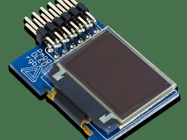 Using the Pmod OLEDrgb with Arduino Uno