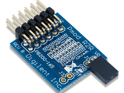 Using the Pmod R2R with Arduino Uno