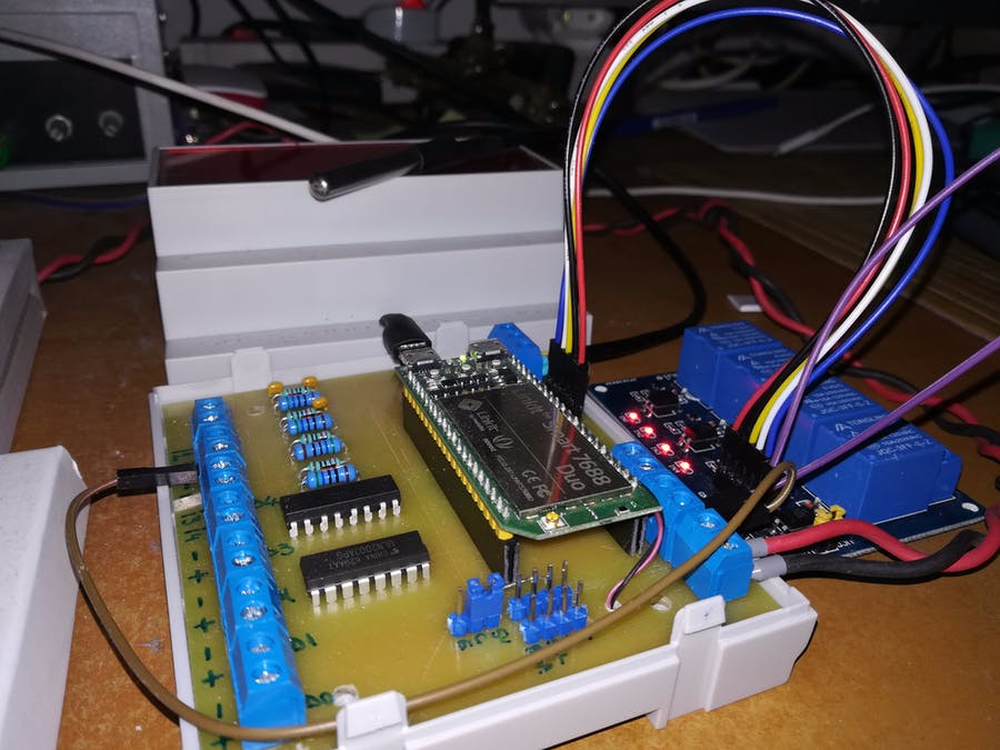 Temperature Controller with Blynk and Linkit Duo