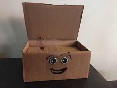Self opening box