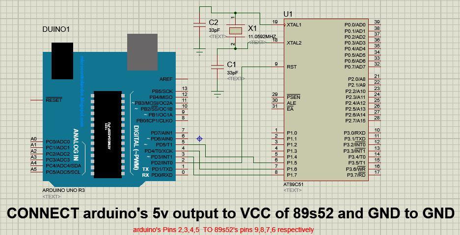 Programming Atmel AT89 Series Via Arduino - Hackster io