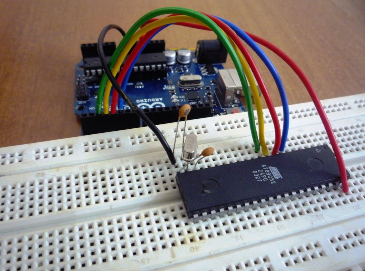 Programming Atmel AT89 Series Via Arduino