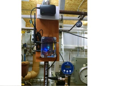 PSI Monitor for a Water Plant