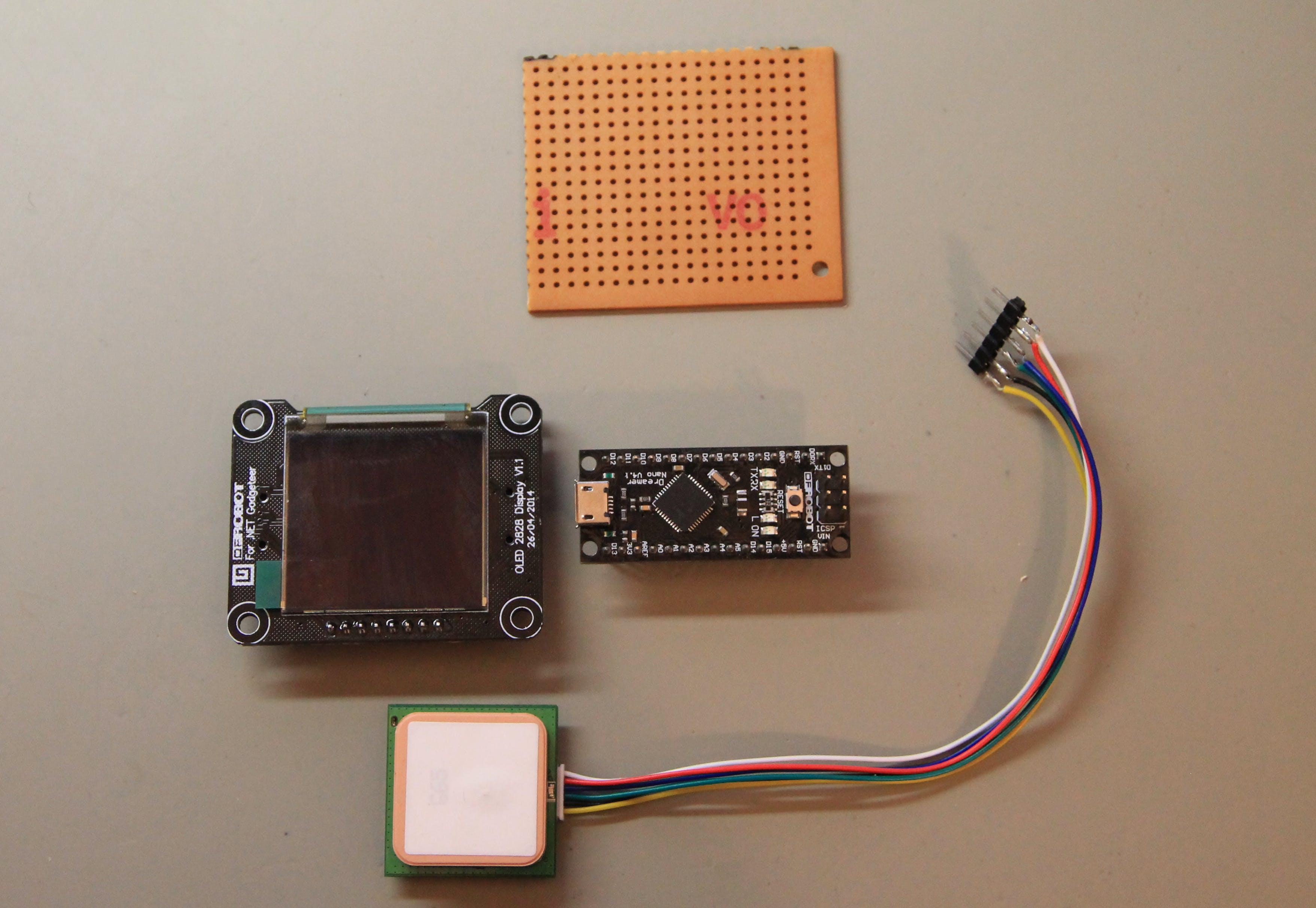 Oled / Dreamer Nano / GPS Prefboard