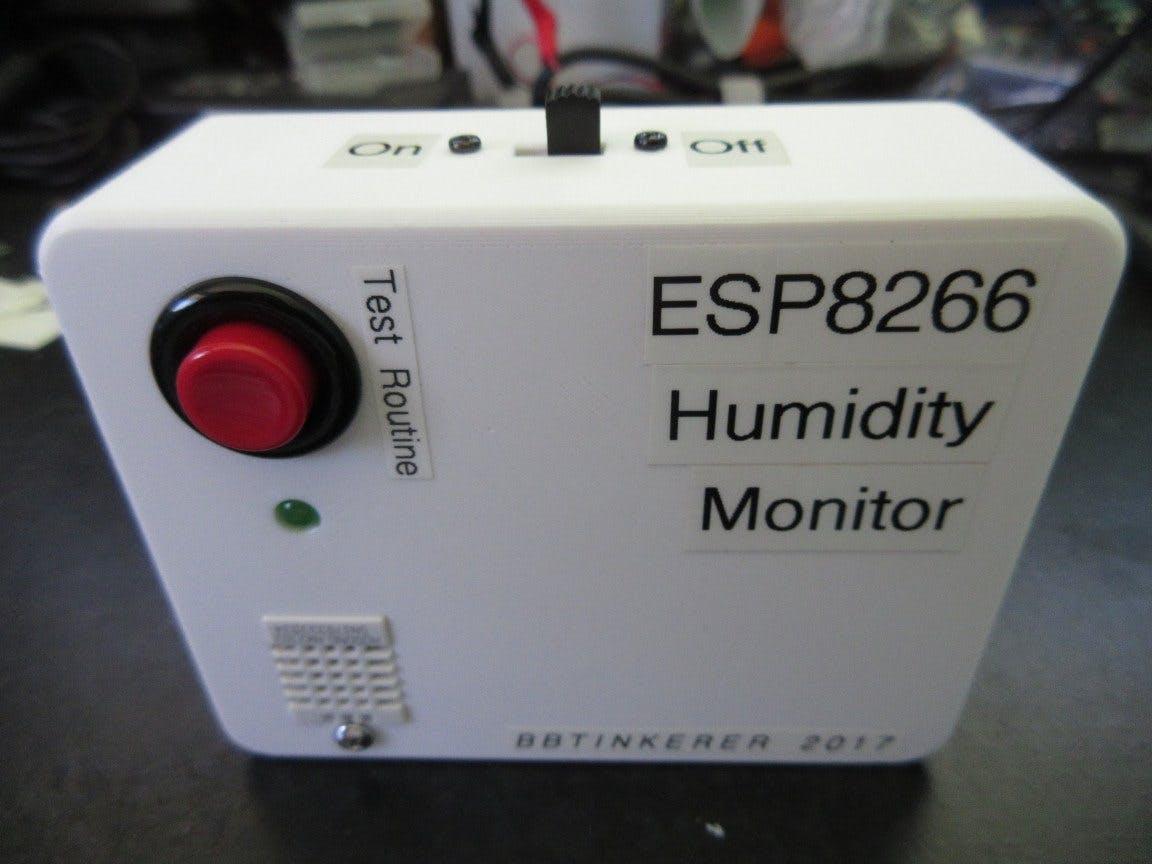 Storage Bin Humidity Monitor