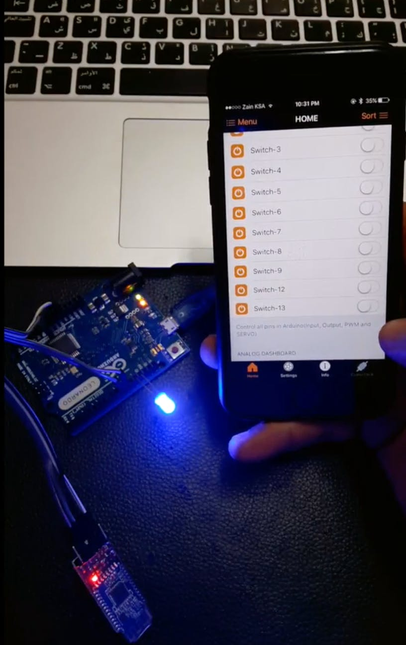 Bluetooth Home Automation