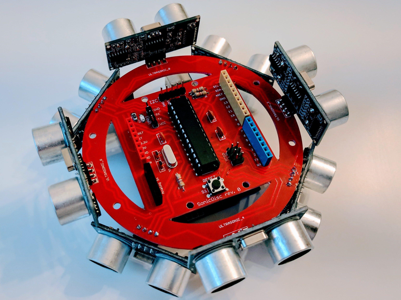 SonicDisc: A 360° Ultrasonic Scanner