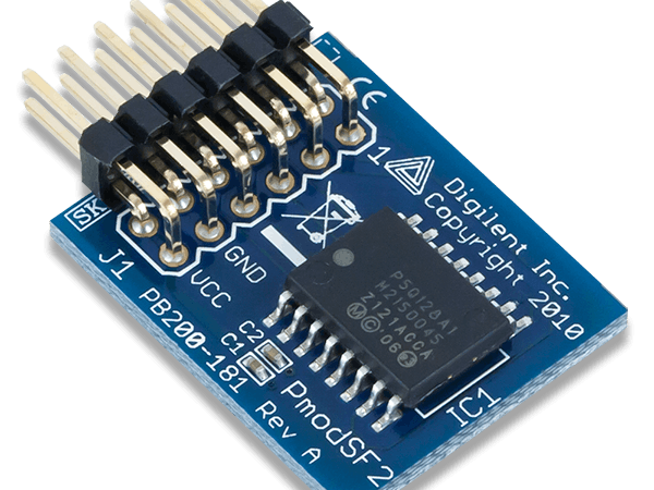 Using the Pmod SF2 with Arduino Uno