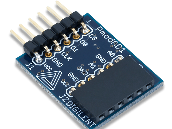 Using the Pmod AD1 with Arduino Uno