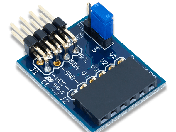 Using the Pmod AD2 with Arduino Uno