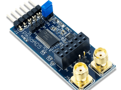 Using the Pmod AD5 with Arduino Uno