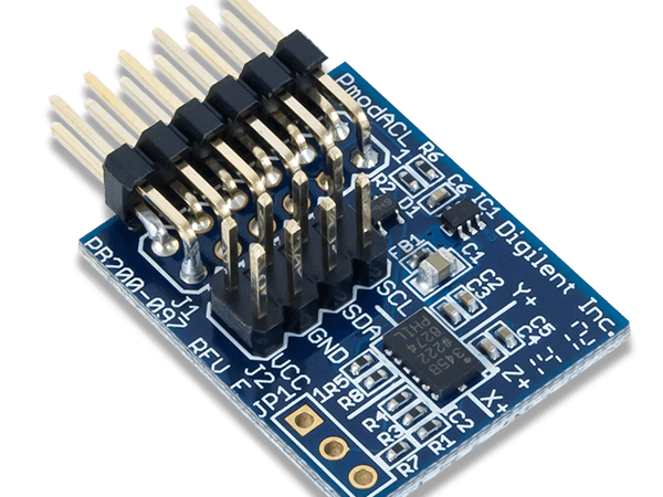 Using the Pmod ACL with Arduino Uno