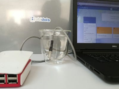 DIY Raspberry Pi Temperature System with Ubidots