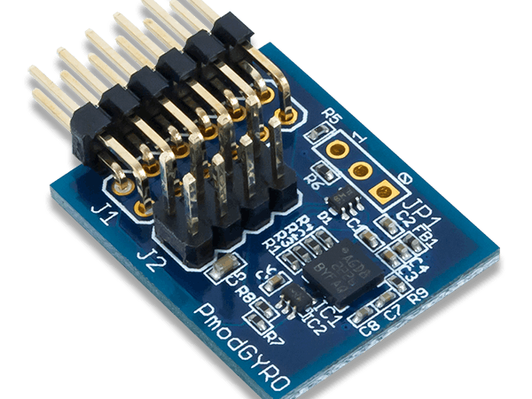 Using the Pmod GYRO with Arduino Uno