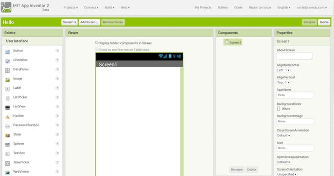 blank project- Designer
