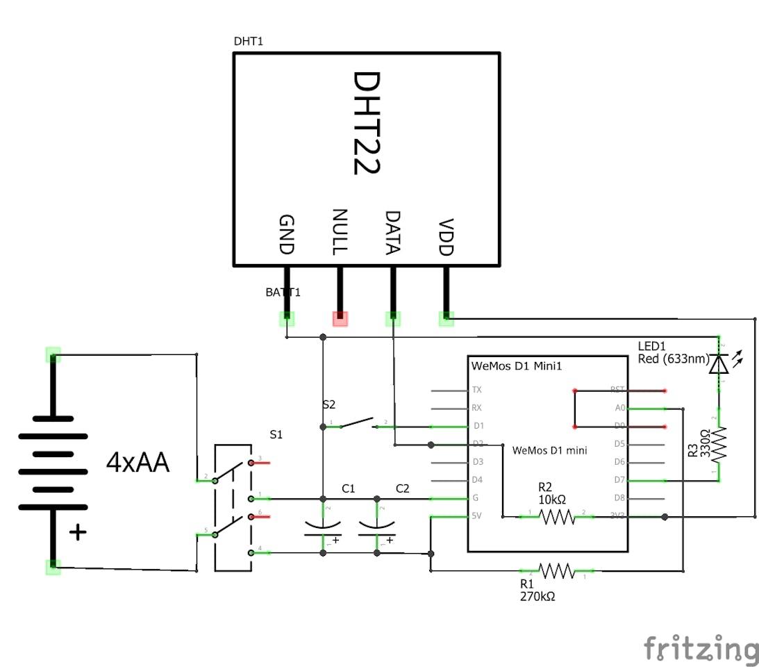 Storage Bin Humidity Monitor - Hackster io
