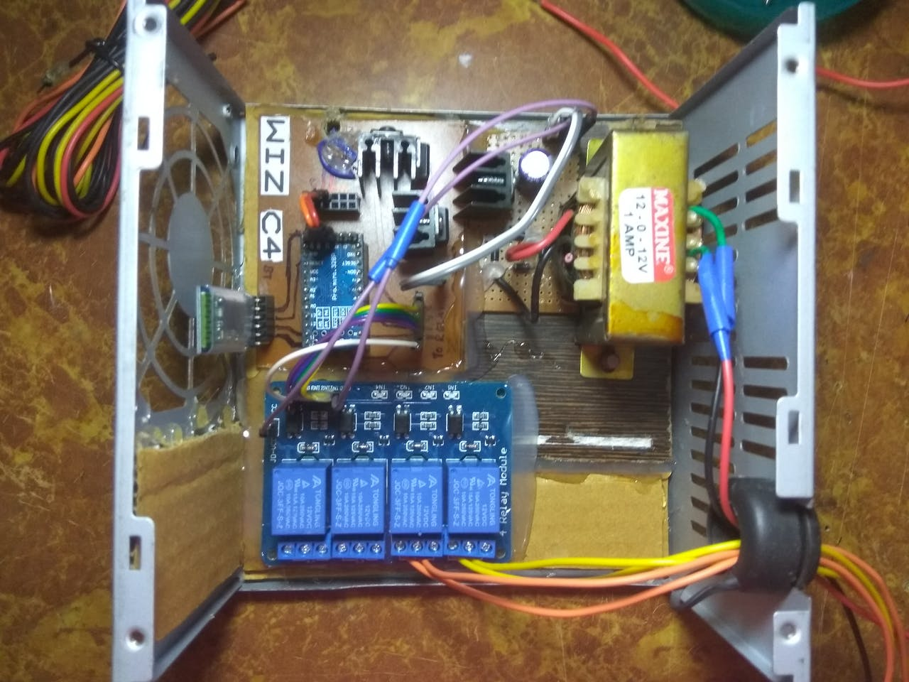 Simple Home Automation Using Bluetooth Android And Arduino 12v 5 Pin Relay Wiring Diagram