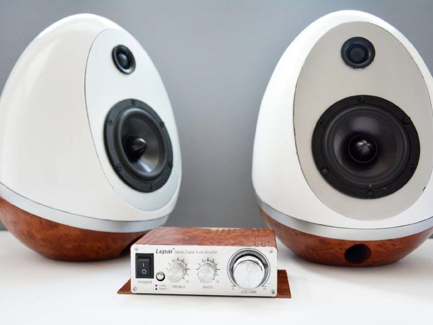 10D Printed Speaker Eggs Build - Hackster.io