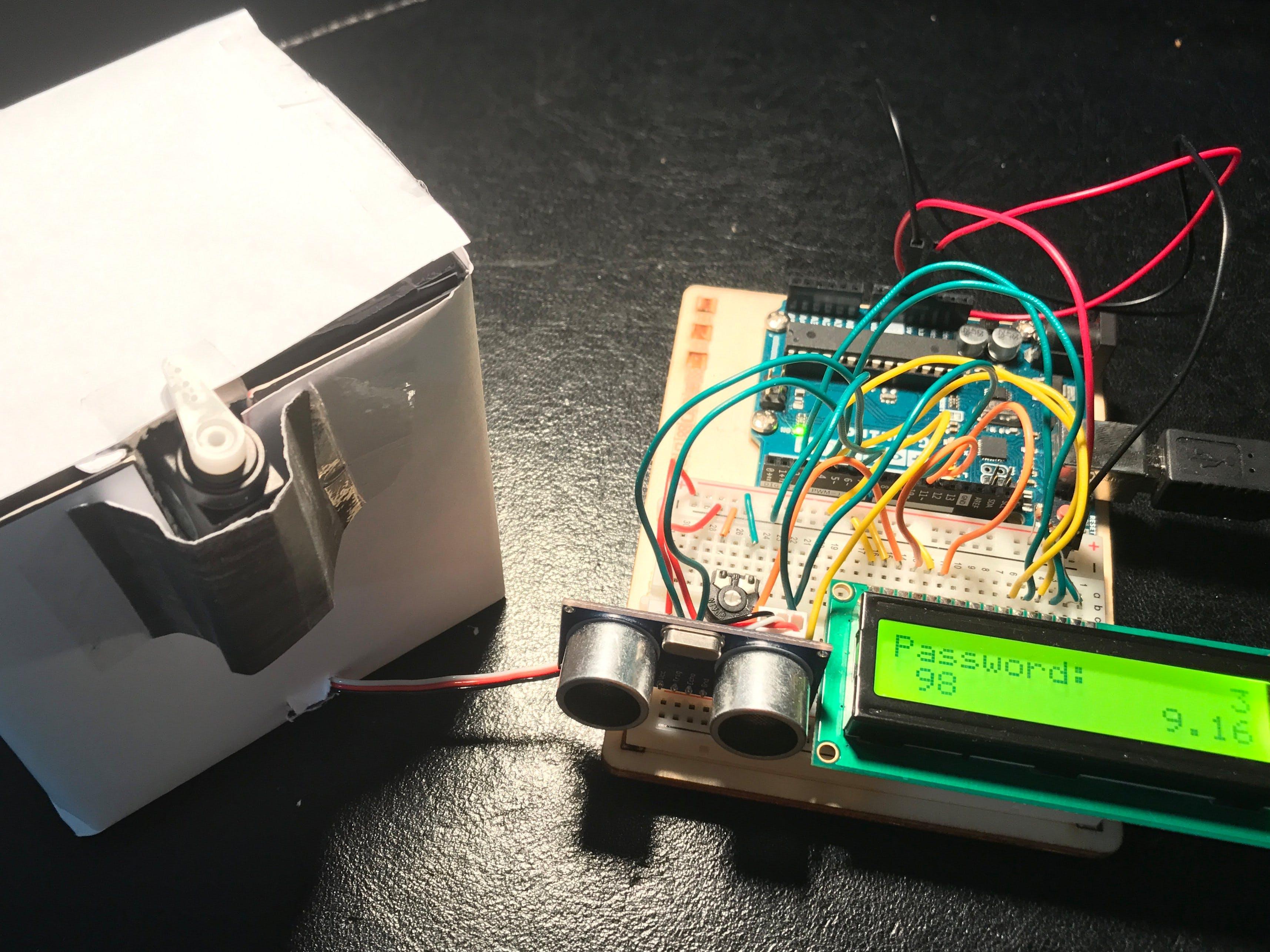 Ultrasonic Lock