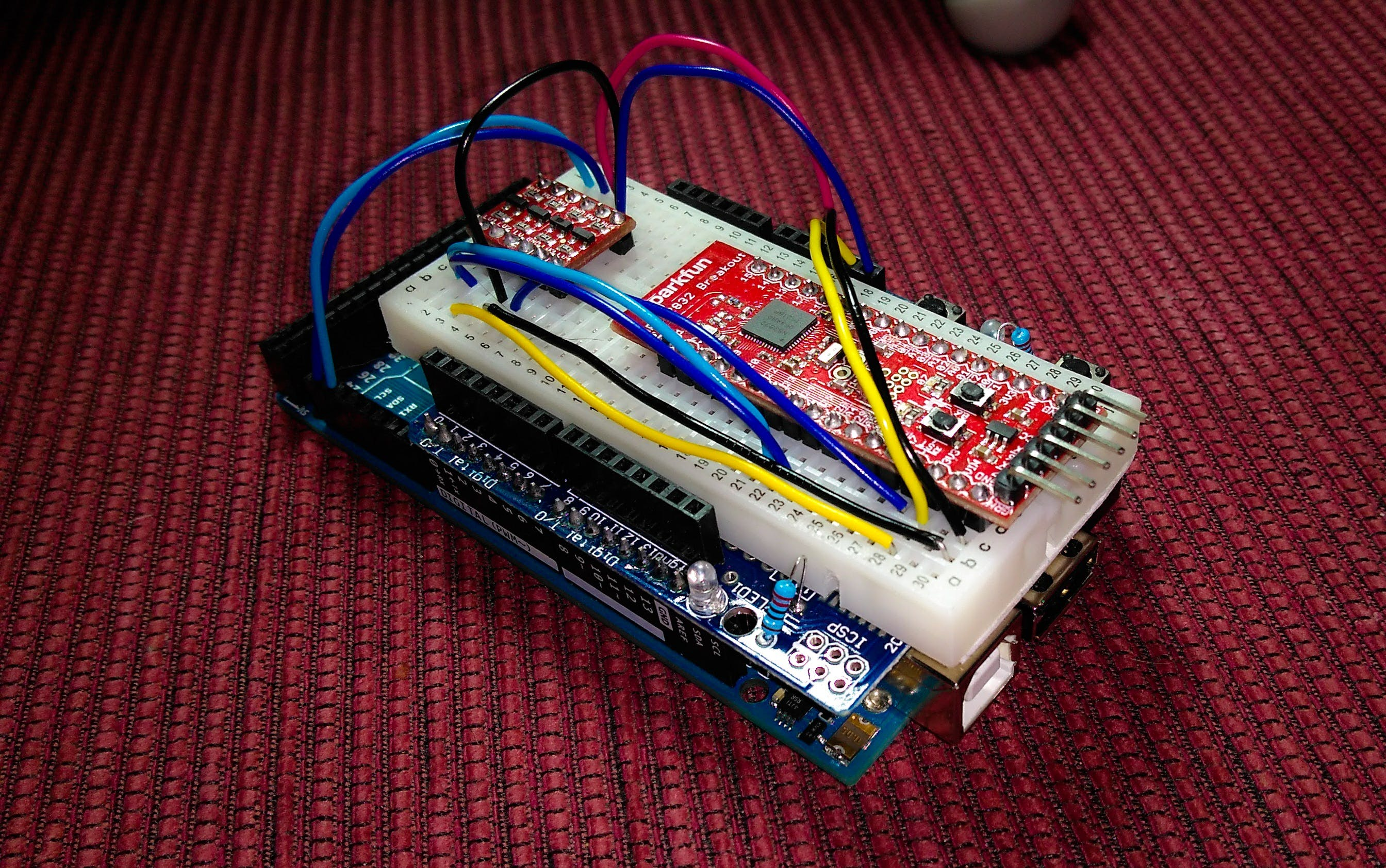 Arduino ADK with SparkFun nRF52 Breakout