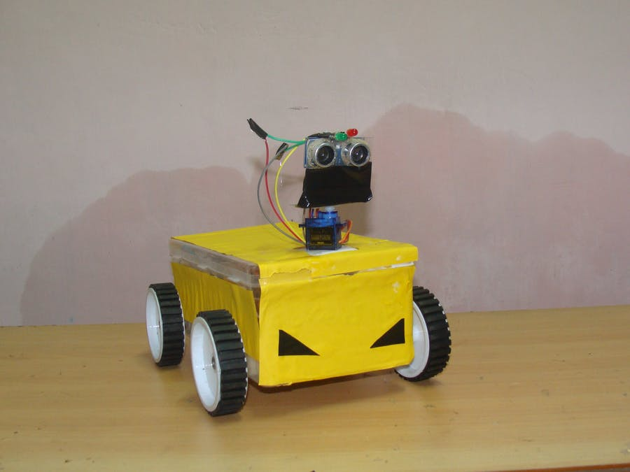 Obstacle Avoiding Robot Car