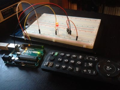 Control an LED with the Remote Control