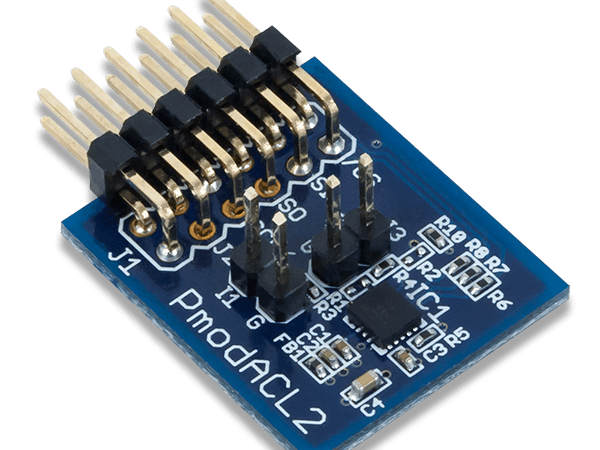 Using the Pmod ACL2 with Arduino Uno