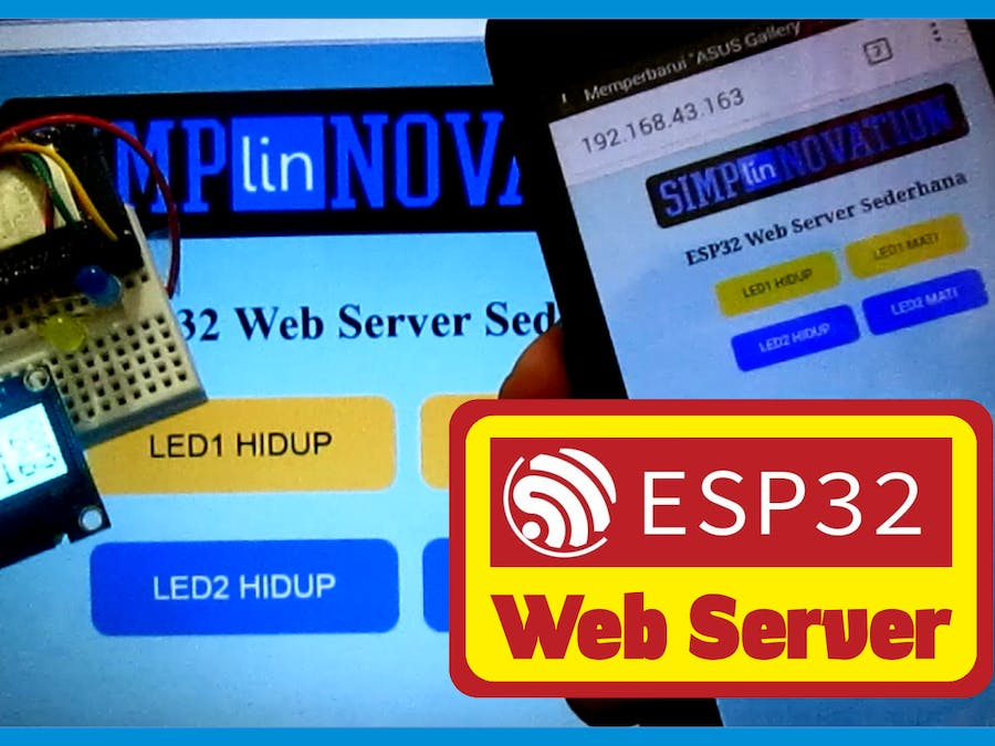 ESP32 Web Server [part 1] - Hackster io