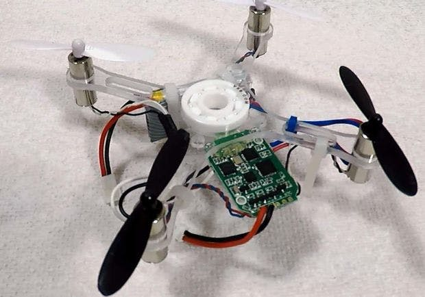 SpinnerDrone Flies and Spins!