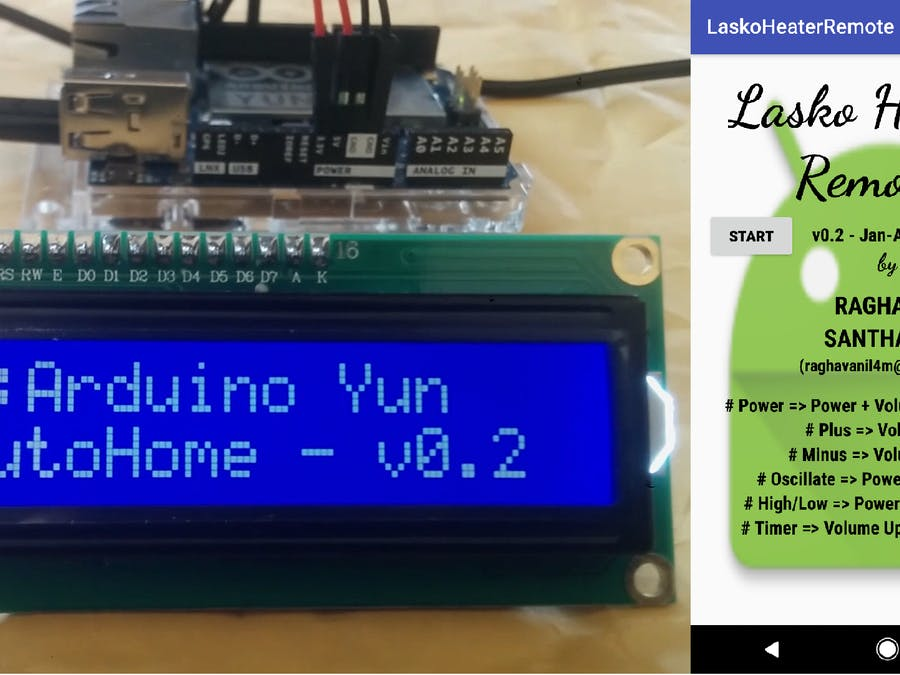 AutoHome - Internet of Things (IoT) for Home Automation