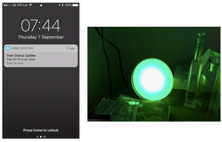 Traffic Light Alerts For My Morning Train - Hackster io