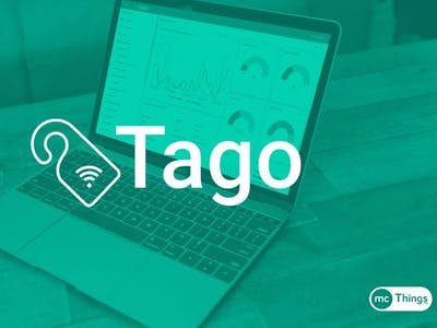 Tago and mcThings IoT Monitoring and Dashboard!