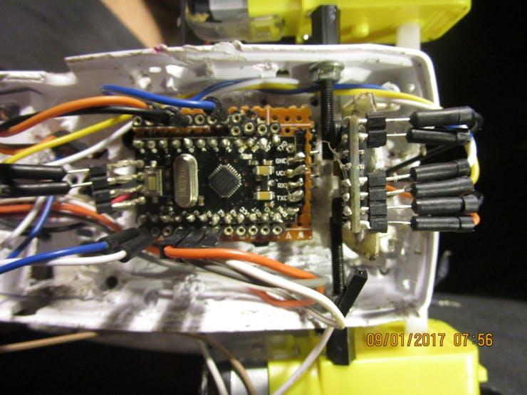 Mini Pro 5v and the 6050 Gyro