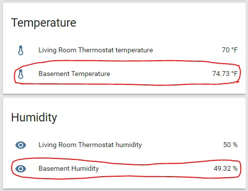 MQTT Temperature and Humidity Monitor for Home Assistant