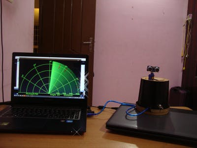 Arduino Radar with Processing