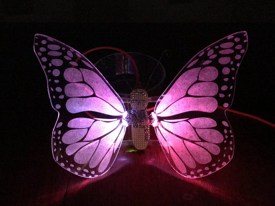 Butterfly Alarm Clock