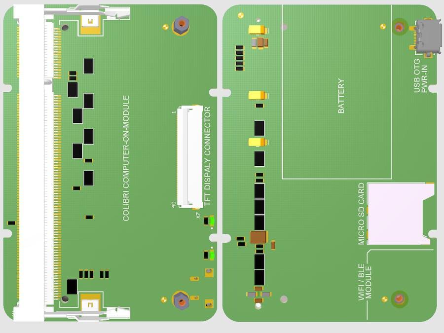 Colibri Carrier Board For IOT - Hackster io