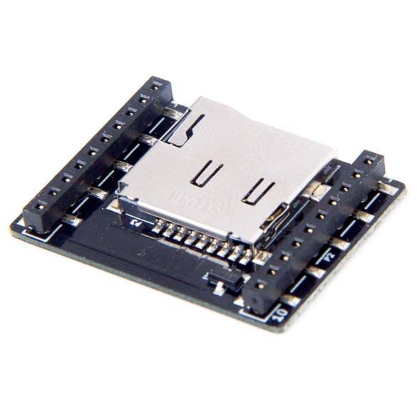 Micro SD card deck
