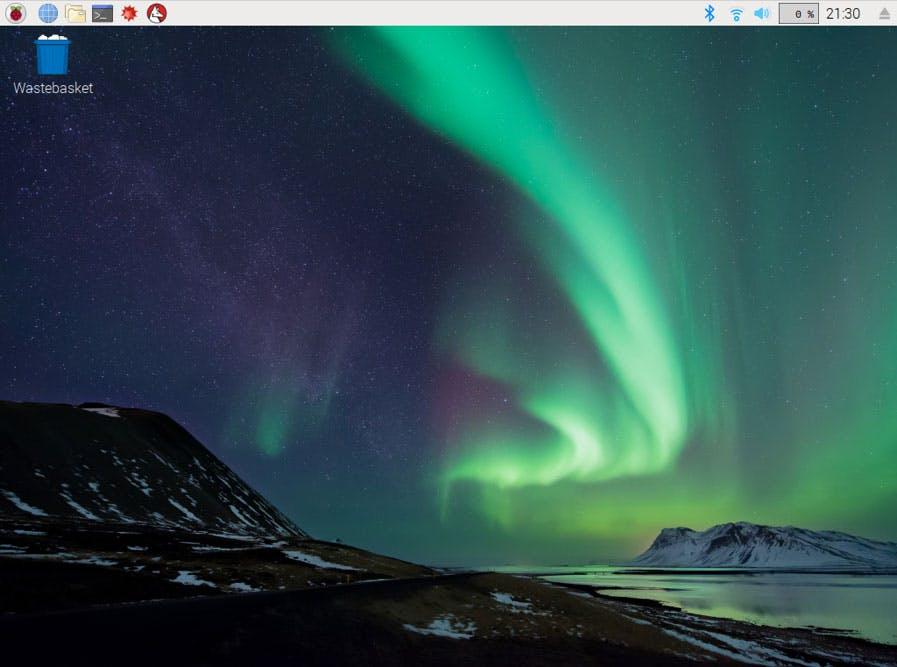 The Raspbian Desktop