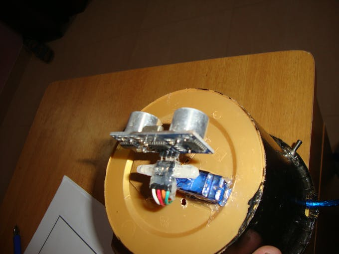 Glueing The Sensor