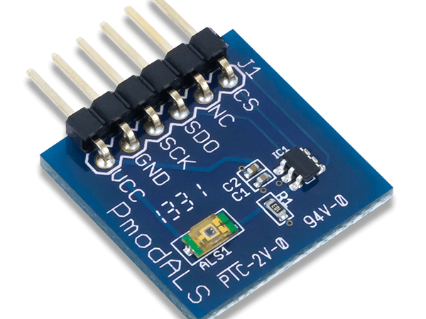 Using the Pmod ALS with Arduino Uno